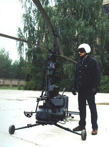 Сверхлегкий вспомогательный вертолет ка-56 «оса».