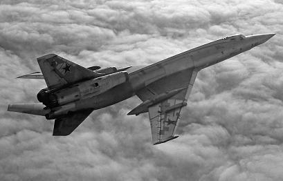 Сверхзвуковой бомбардировщик ту-22 (самолет «105»).