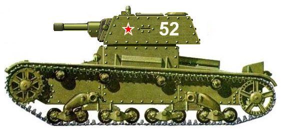 Т-26? да, но толстокожий! и с настоящей пушкой!