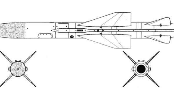 Тактическая противорадиолокационная ракета х-58 («изделие 112», д-7).