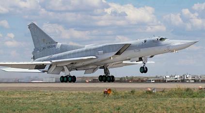Тактический самолет-разведчик ту-22мр.
