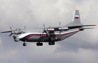 Тактический военно-транспортный самолет ан-12.