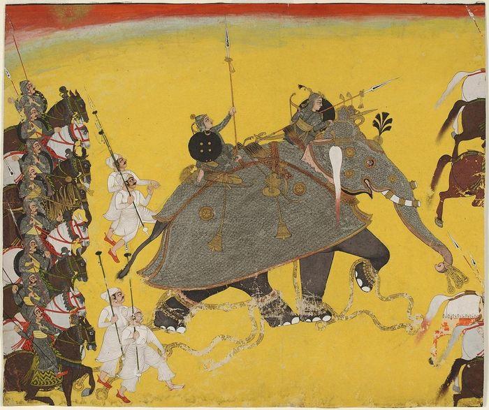 Танки древности - боевые колесницы и слоны