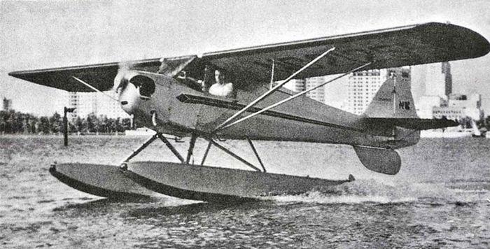 Taylorcraft b. технические характеристики. фото.