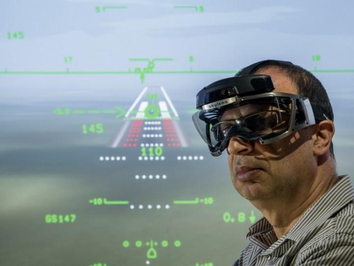 Теперь пилоты смогут видеть сквозь туман, благодаря очкам skylen