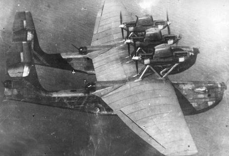 Тяжелая ударная летающая лодка «морской крейсер» мк-1 (ант-22).