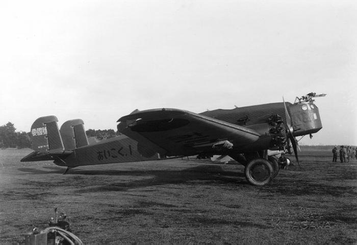 Тяжелые бомбардировщики ki-1. япония