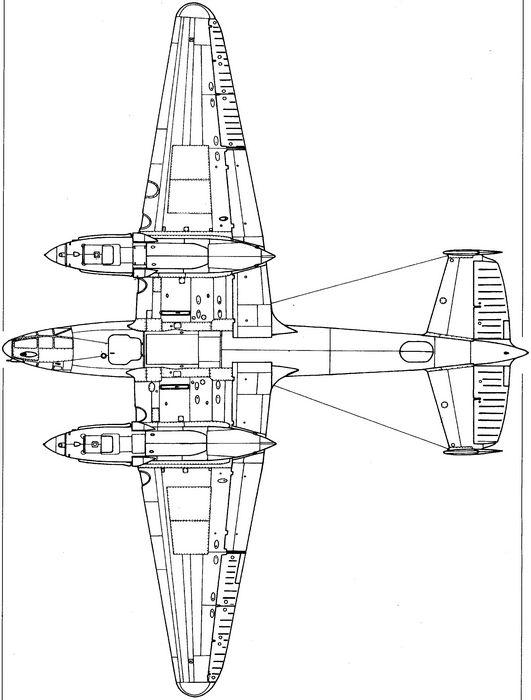 Тяжелый истребитель пе-2и.