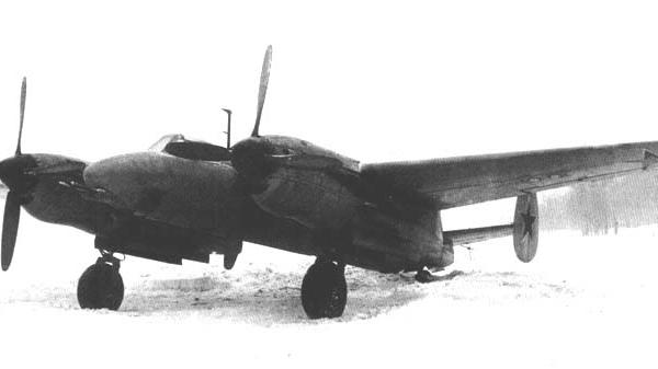 Тяжелый истребитель-перехватчик ту-1.