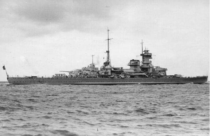 Тяжелый крейсер вместо карманного линкора. немецкий проект 66.