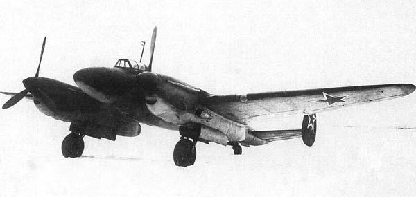 Тяжелый высотный истребитель пе-2ви.