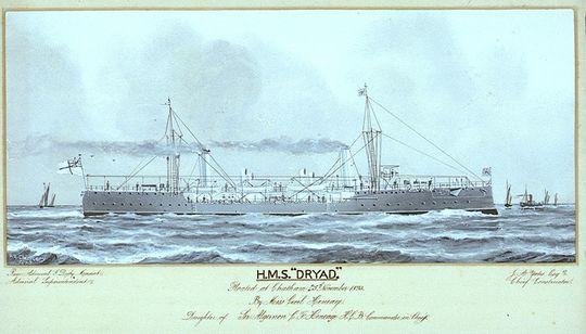 Торпедные канонерские лодки hms тип dryad 1892 г