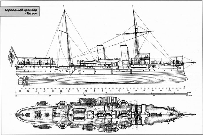 Торпедный крейсер «тигер»