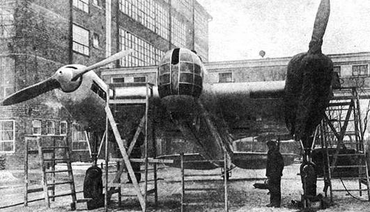 Торпедоносец ант-41 (т-1).