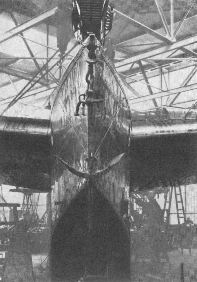 Трансатлантическая летающая лодка rohrbach ro x romar. германия часть 1