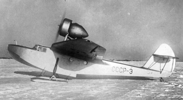 Транспортный самолет-амфибия ма-1.