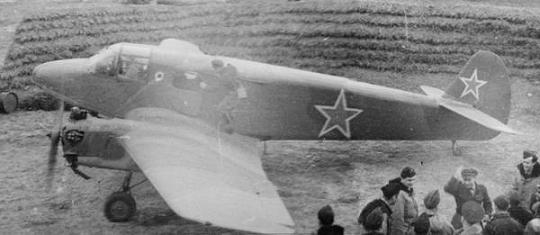 Транспортный самолет як-6.