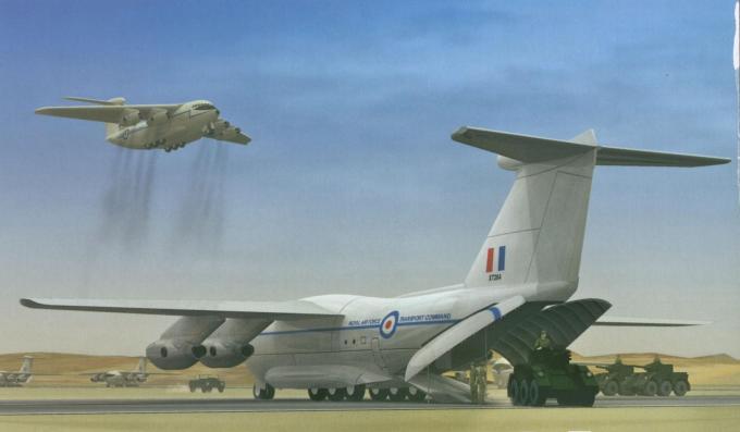 Транспортный самолет сквп/сввп. проект военно-транспортного самолета hawker siddeley hs.681/armstrong whitworth 681 часть 2