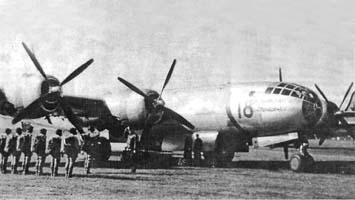 Транспортный самолет ту-4т.