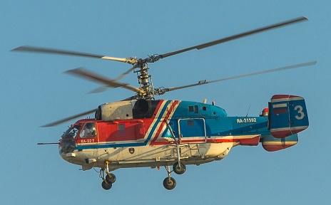 Транспортный вертолет ка-32т.