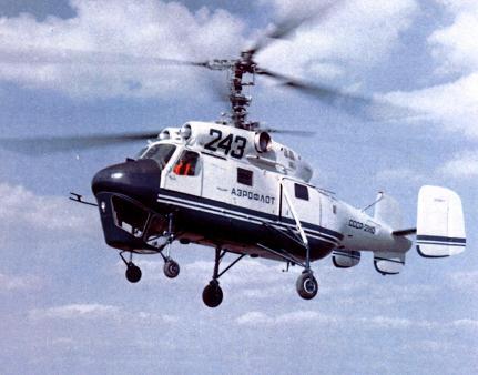 Транспортный вертолет-кран ка-25к.