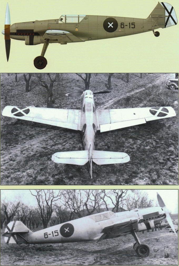Трофейные истребители messerschmitt me 109. часть 1
