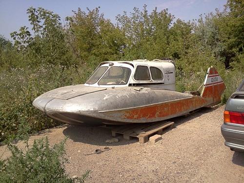 Туполев аэросани-амфибия а-3
