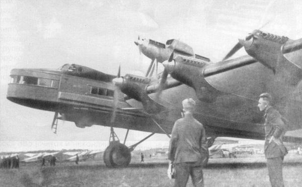 Туполев ант-20. фото. 8 двигателей. история. характеристики.