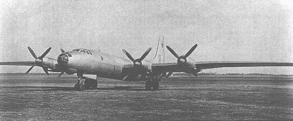 Туполев ту-80. фото. история. характеристики.