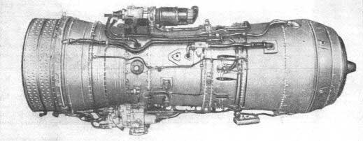 Турбореактивный авиационный двигатель д-20п.