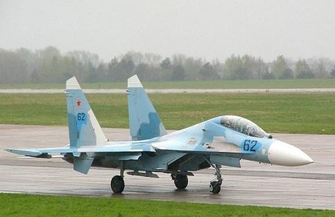Учебно-боевой истребитель су-27убм.