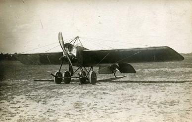 Учебно-рулежный самолет «de brageas».