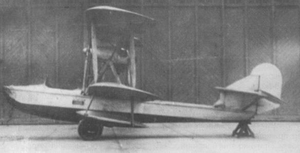 Учебно-тренировочная летающая лодка му-2.
