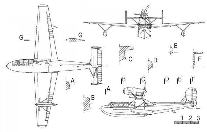 Учебно-тренировочные летающие лодки scan 20. франция