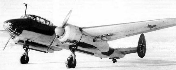 Учебно-тренировочный бомбардировщик утб (утб-2аш-21).
