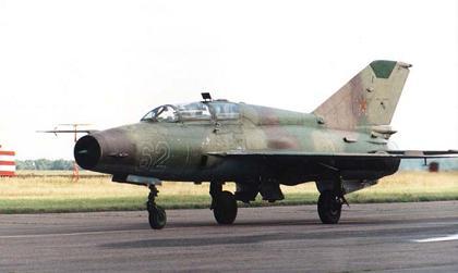 Учебно-тренировочный истребитель миг-21ус (ум).