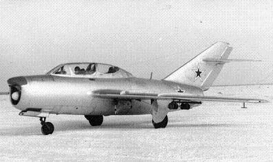 Учебно-тренировочный истребитель-перехватчик миг-15ути (ст-7).