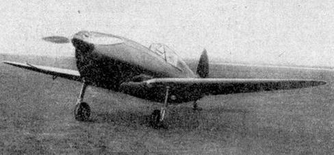 Учебно-тренировочный самолет г-28 «кречет».