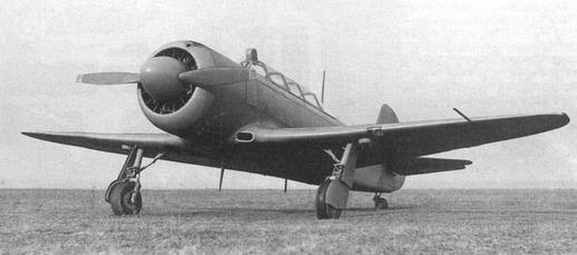 Учебно-тренировочный самолет як-11.