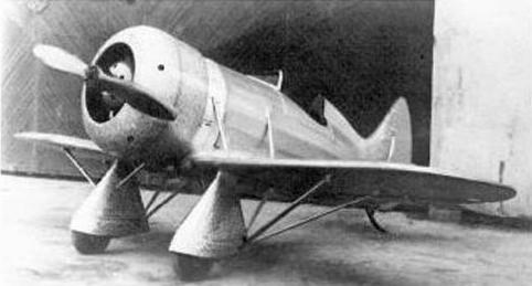 Учебно-тренировочный самолет нв-1.