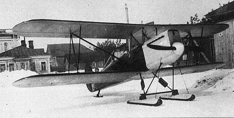 Учебно-тренировочный самолет п-1 (2уб-iii).