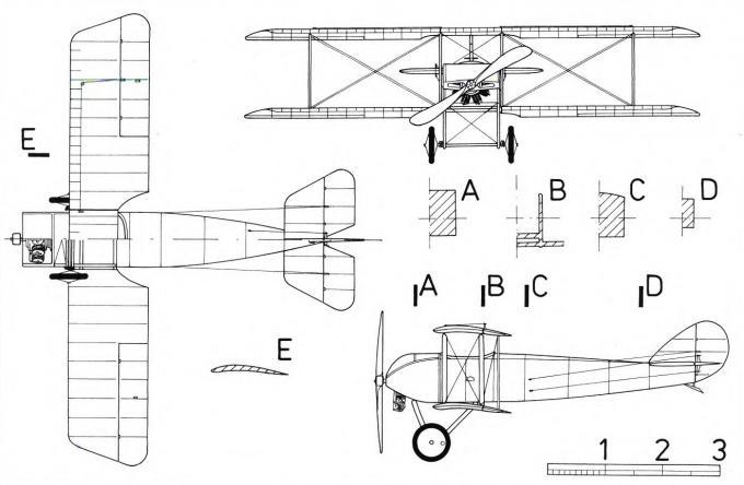 Учебно-тренировочный самолет/самолет-разведчик pemberton billing p.b.9. великобритания