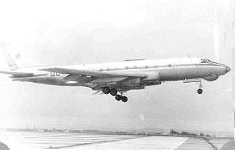 Учебно-тренировочный самолет ту-124ш.