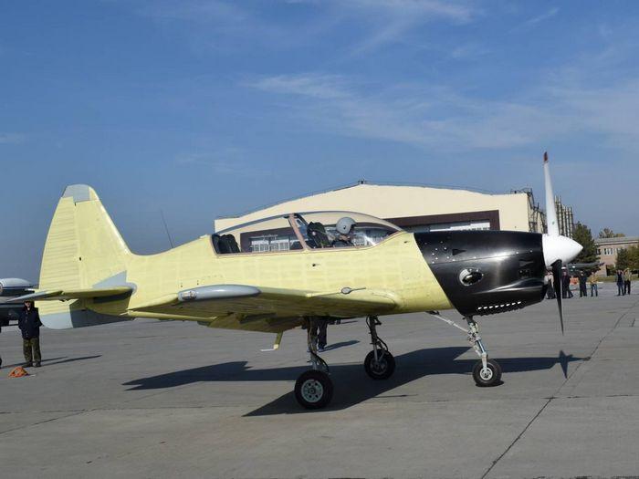 Учебно-тренировочный самолет у-3.