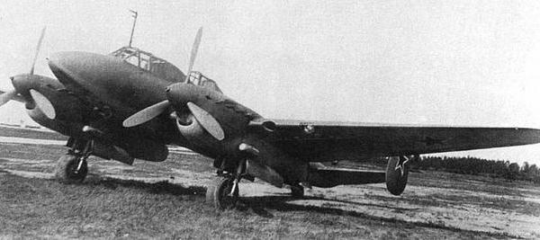 Учебно-тренировочный самолет упе-2 (пе-2ут).