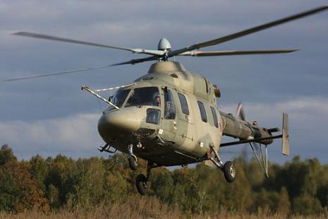 Учебно-тренировочный вертолет «ансат-у».