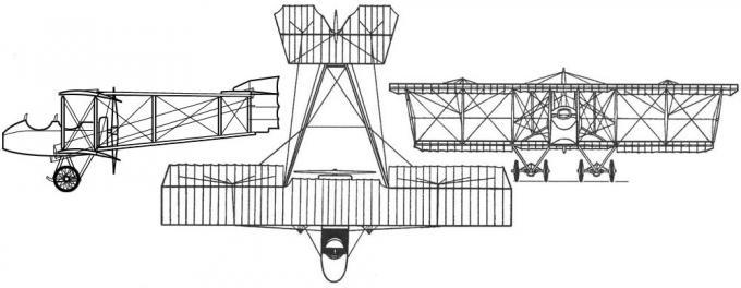 Учебный перевертыш. учебно-тренировочный самолет п-4/п-4бис. россия