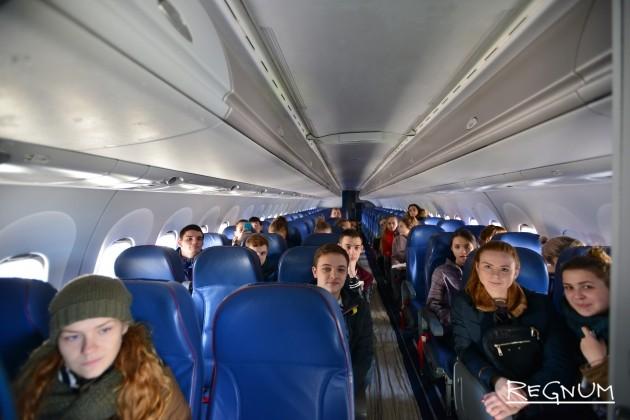 Учения аварийно-спасательных команд в аэропорту домодедово