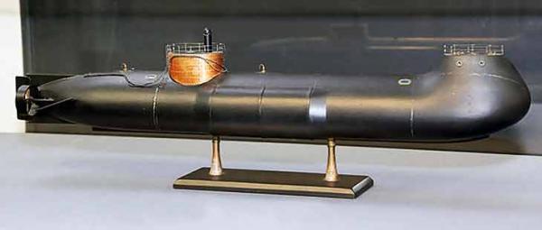 Удар из под воды. часть2. механический двигатель