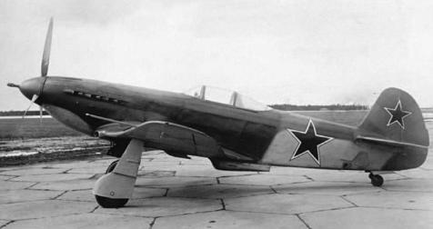 Ударный истребитель як-3т.